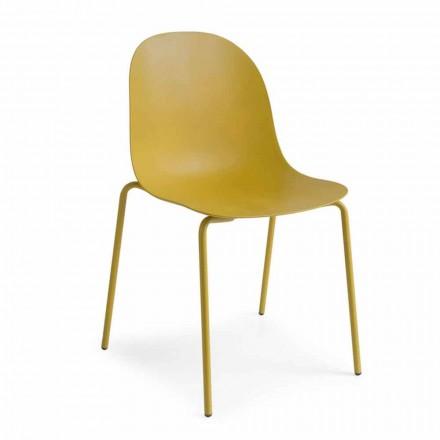 Connubia Academy Calligaris židle konstrukce z polypropylenu, 2 ks