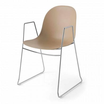 Connubia Academy Calligaris moderní židle z polypropylenu, 2 ks