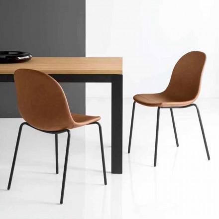 Connubia Academy Calligaris židle vintage italský design, 2 ks