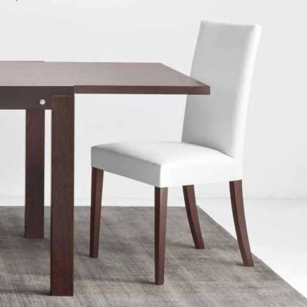 Connubia Copenhagen Calligaris židle v umělé kůže a dřeva, 2 ks