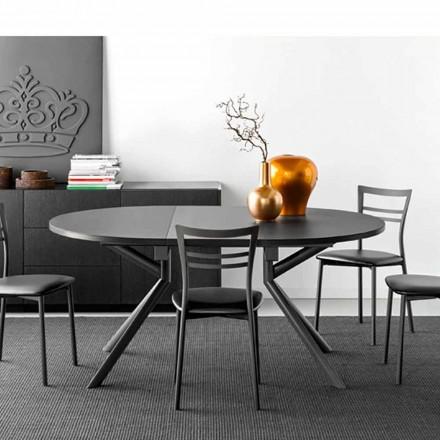 Connubia Calligaris Jupiter keramické stolní výsuvné, W120 / 165 cm