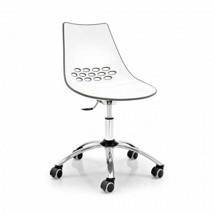 Connubia Calligaris Jam moderní kancelářská otočná židle, 2 ks