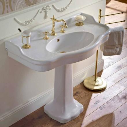 Vintage keramická koupelna konzole na Colonna, vyrobené v Itálii - Paulina