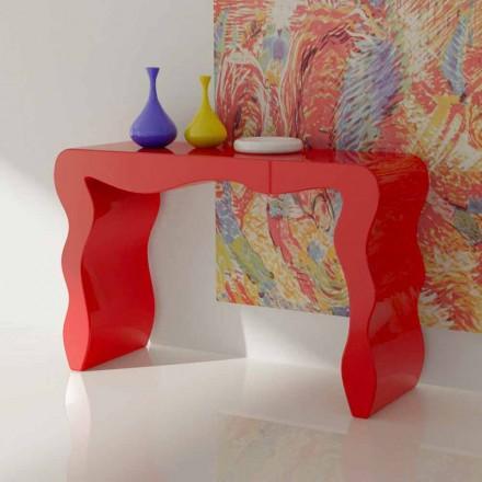 Konzole moderního designu vyrobené v Itálii, Wow
