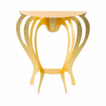 Konzole v barevné železo moderního designu vyrobeno v Itálii - Barbata