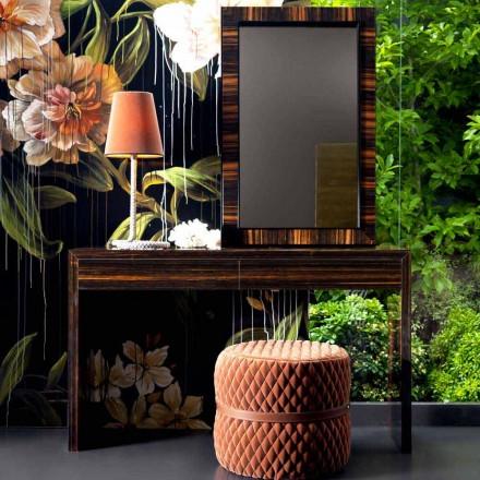 Grilli Zarafa moderní ebenová dřevěná konzola vyráběná v Itálii