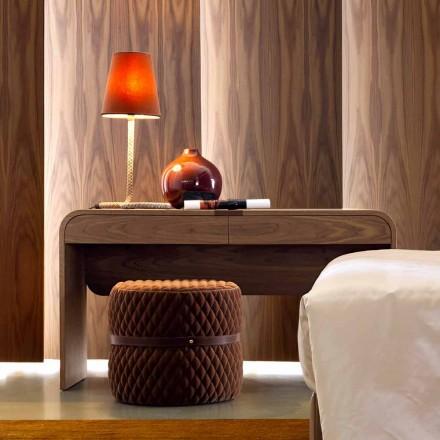 Grilli York design vyrobený v Itálii z masivního dřevěného stolu