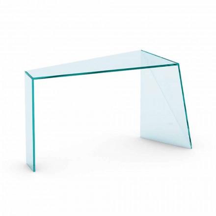 Moderní vstupní konzole v extraskulárním skle Vyrobeno v Itálii - Rosalia