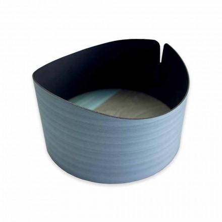 Moderní kruhový box v pravém dřevě Vyrobeno v Itálii - Stan