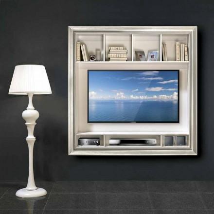 Nástěnný plazmový televizor Mirko ve dřevě