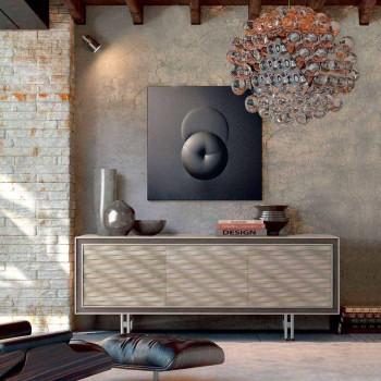 Víra moderní design masivního dřeva, L192 x D 50 cm, Teresa