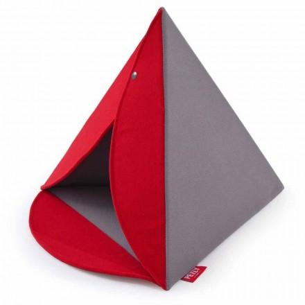 Chovatelská stanice pro psy a kočky vnitřní odnímatelná Vyrobeno v Itálii - pyramida