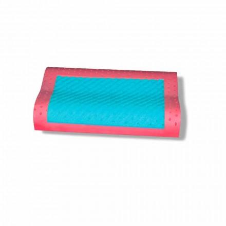 Dvojitý vlněný polštář v paměti ženšenu Made v Itálii, 2 kusy - Temže