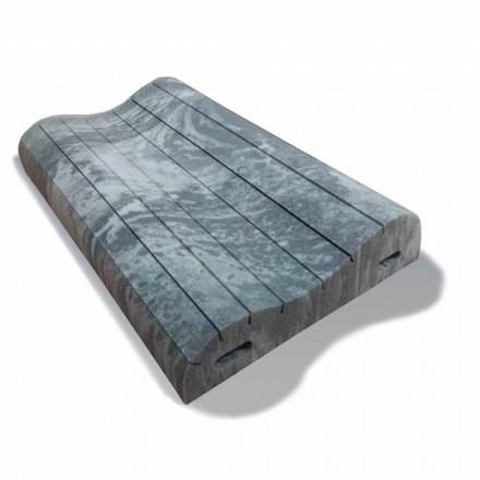 Dvojitý vlněný polštář v paměti Xform vysoký 11 cm Vyrobeno v Itálii, 2 kusy
