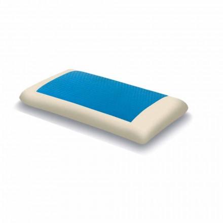 Ergonomický polštář s hydrogelovou pamětí Vyrobeno v Itálii, 2 kusy - hezké
