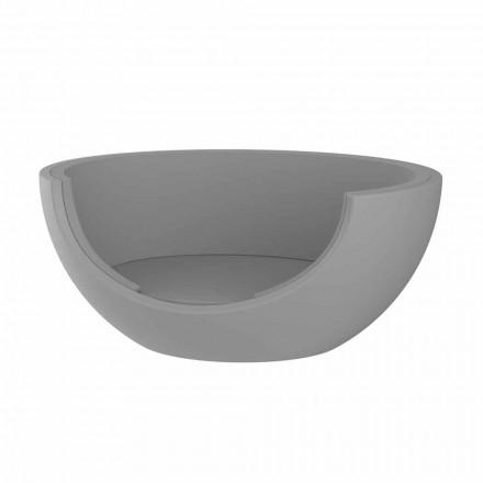 Lehátko pro venkovní luxusní kruhový design z polyethylenu - Ulm Moon od společnosti Vondom