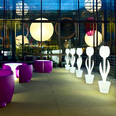 Svítící dekorace nábytku pro interiérový design, 2 kusy - Tulip od Myyour