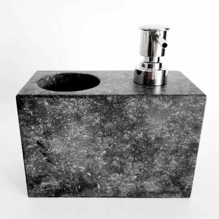 Dávkovač tekutého mýdla s mramorovým sklem vyrobený v Itálii - Clik
