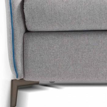2místná pohovka maxi L.165cm umělá kůže / látka vyrobená v Itálii Erica