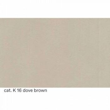 2místná pohovka čalouněná prošívanou kůží vyrobena v Itálii - Vesuvio