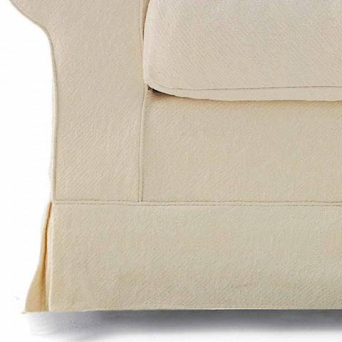 3místná pohovka potažená kvalitní tkaninou vyrobenou v Itálii - Andromeda