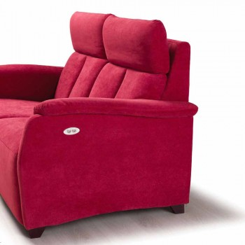 2 místná pohovka moderní design v kůži, umělé kůže nebo textilie Gelso