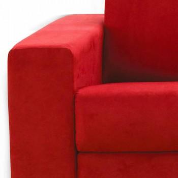 2 místná pohovka maxi moderní umělé kůže / látka vyrobena v Itálii Mora