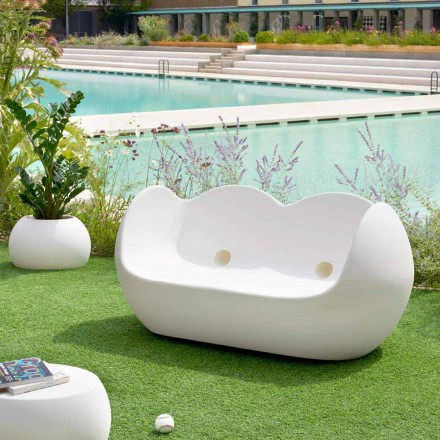 Venkovní houpací pohovka Slide Blossy moderní design vyrobený v Itálii