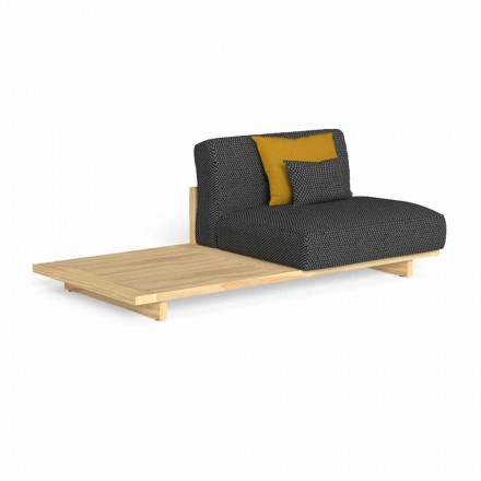 Modulární venkovní pohovka s pravým nebo levým stolem - Argo od Talenti
