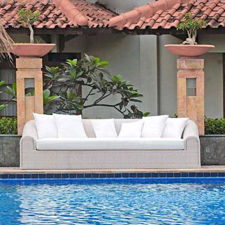 Garden sofa u velkého ručně tkané Cooper
