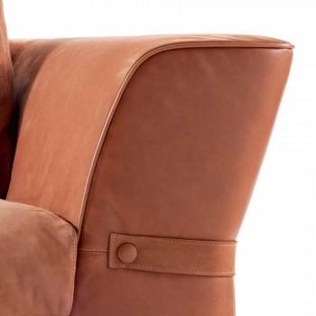 3-místná čalouněná textilní pohovka Grilli Joe vyrobená v Itálii