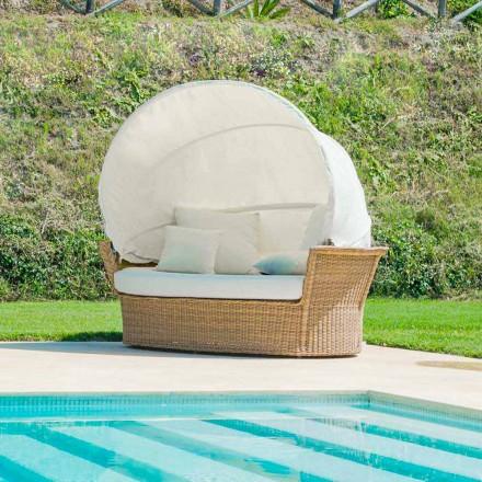 ostrov sofa relaxační zahrada s Hectorem vyrobené tkaní ručně, moderní design
