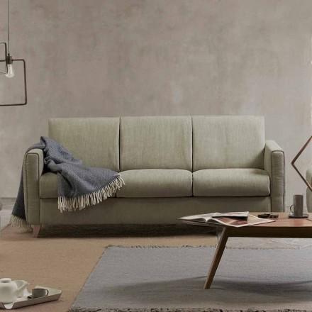 Moderní designová pohovka v tkanině vyrobené v Itálii Filippo
