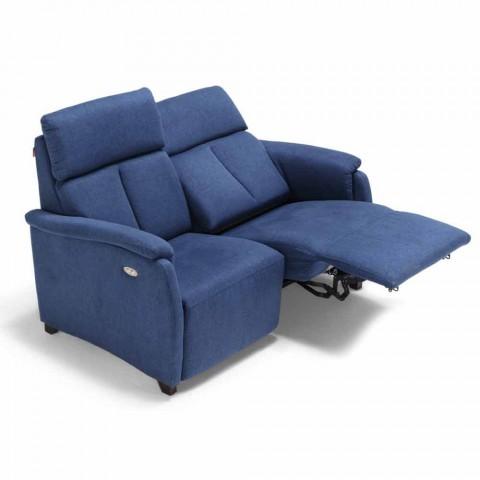 2místná motorizovaná pohovka s 1 elektrickým sedadlem Gelso, moderní design