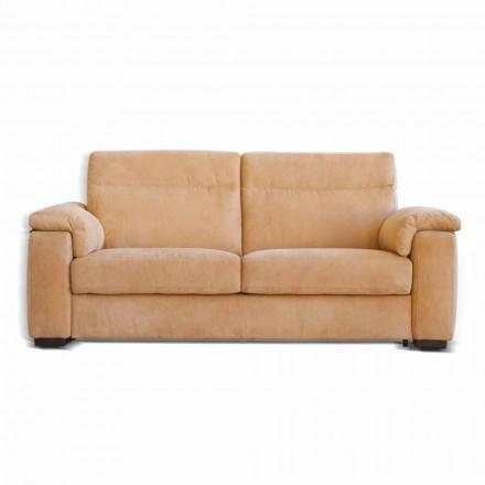 Sofa motorizované 2 místa s 1 elektrickým sedí Lilia, made in Italy