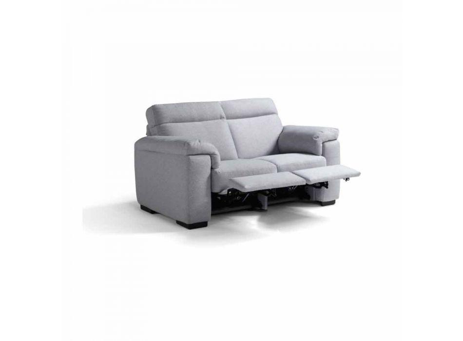 2místná elektrická relaxační pohovka, 2 elektrická sedadla Lilia, vyrobené v Itálii