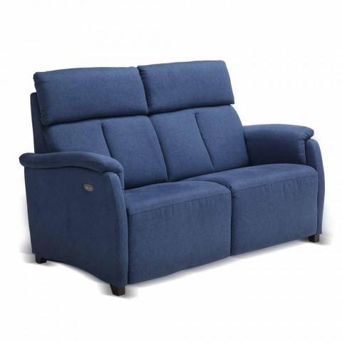 Elektrická relaxační pohovka 2 sloupky, 2 elektrické židle Gelso, moderní design