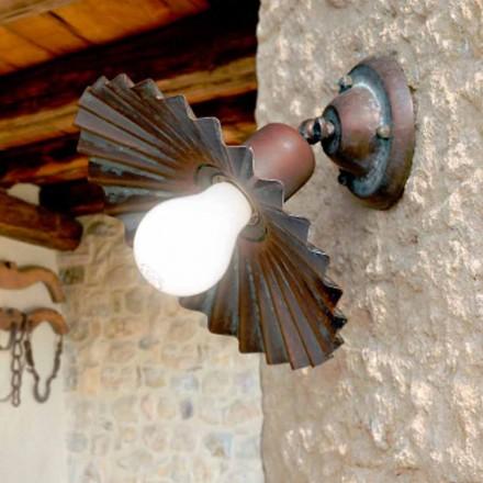 Zapuštěné stropní světlo v antické mosazi Owl