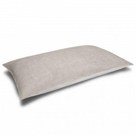 Polštářový polštář s krémem a přírodním povlakem vyrobeným v Itálii - Blessy