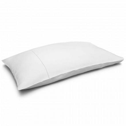 Krémově bílý povlečený povlak na polštář vyrobený v Itálii - Chiana