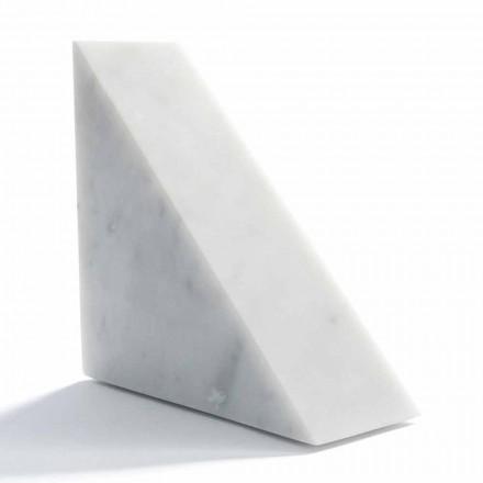Moderní bílá carrara mramorová kniha vyrobená v Itálii - Tria
