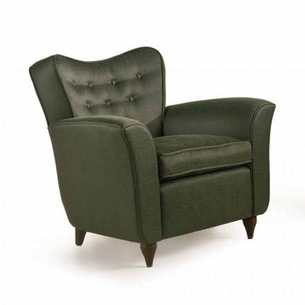 Fratelli Boffi Leonie design čalouněná židle, záda capitonnè