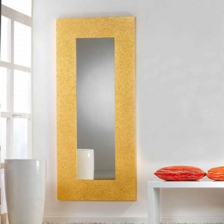 Velké zrcadlo podlaha / stěna moderního designu Šrouby, 78x178 cm