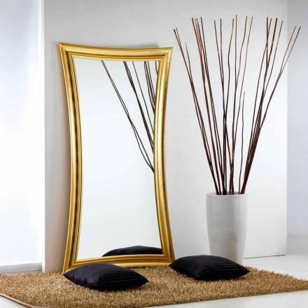 Velké zrcadlo podlaha / stěna moderní design Heart, 110x197 cm