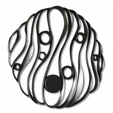 Nástěnná instalace Moderní design z perforované keramiky Vyrobeno v Itálii - Desta