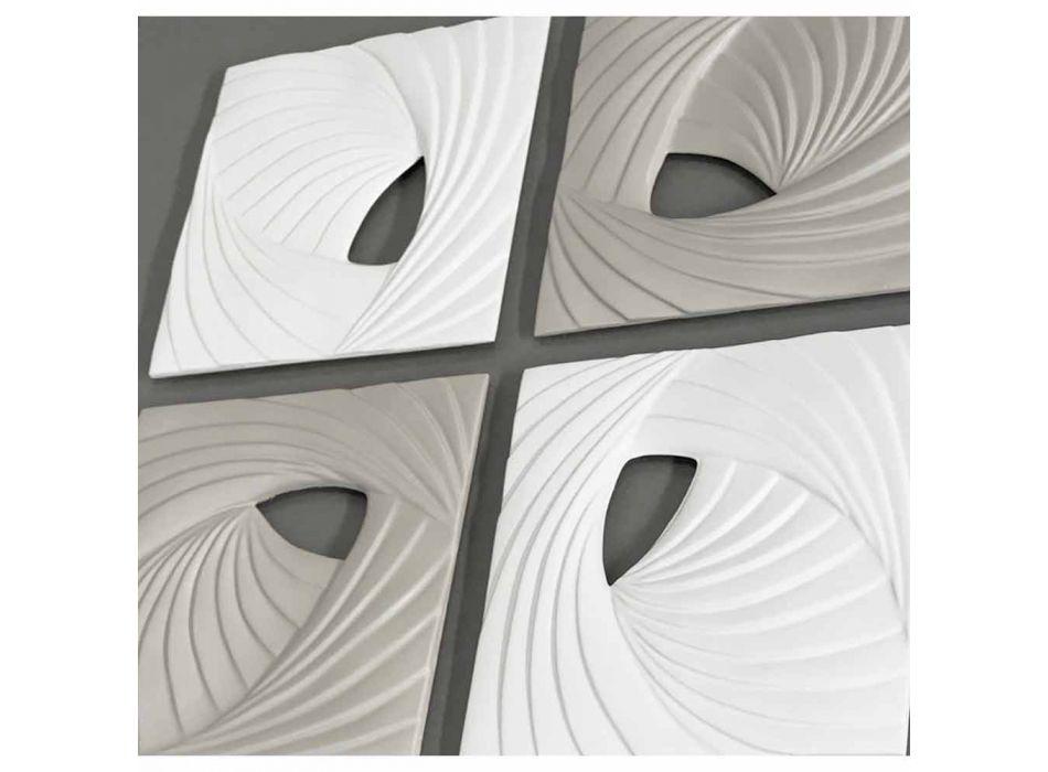 Bílá a šedá moderní design Dekorativní stěna instalace - Bossy