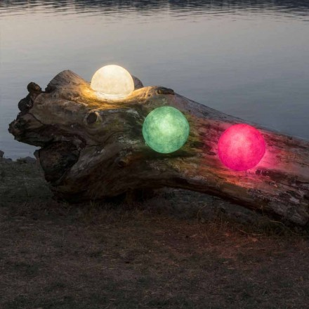 Venkovní nástěnná svítidla In-es.artdesign Tlačítko Out v barevném nebulitu