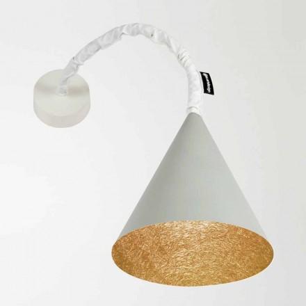 Designová nástěnná svítidla In-es.artdesign Jazz Cement malovaný