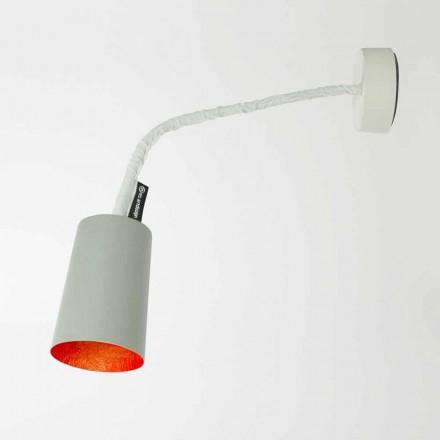 Designová nástěnná svítidla In-es.artdesign Barva s lakovaným cementem