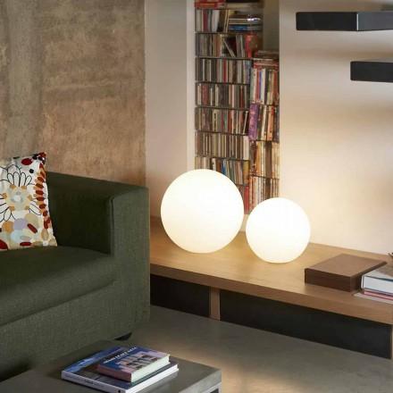 Moderní stojací lampa / stůl Slide Globo, vyrobené v Itálii